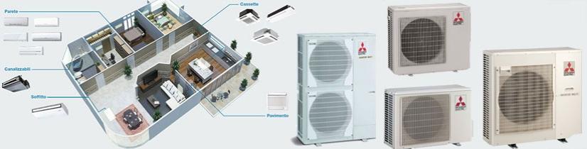 Climastore di roma for Climatizzatori multisplit